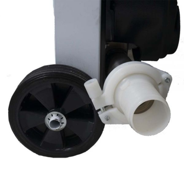 Σπαστήρας Σταφυλιών Ηλεκτρικός με Διαχωριστήρα & Αντλία GRIFO DVEP 20 (73010)